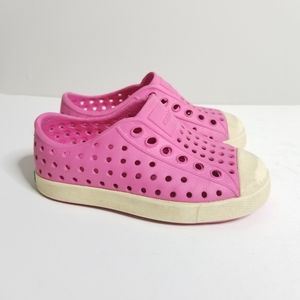 Native Pink Water Shoes Jefferson Size 6